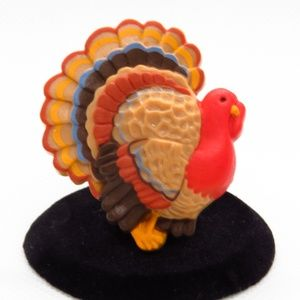 Vintage Turkey Pin Brooch Hallmark Thanksgiving